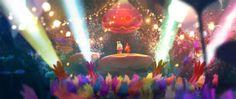 Artes de Carlos Felipe León para o filme Trolls, da DreamWorks | THECAB - The Concept Art Blog