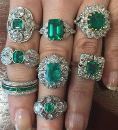 Our Emerald collection is strong! Even @blakelivelyfan would approve!