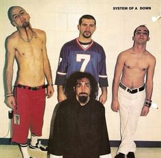 System of A Down / Debbye Reis Collection System Of A Down, Nu Metal, 3 I, Metallica, My Music, Pop Culture, Nostalgia, Singer, People