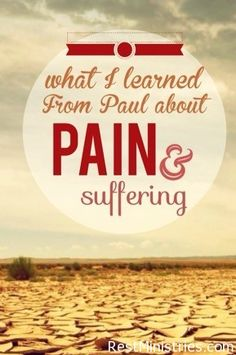 WE HEAR OF THE APOSTLE PAUL often when consider suffering and a good attitude. But have you read about how even his friends thought him beaten to death, and then he got up and went about his ministry?