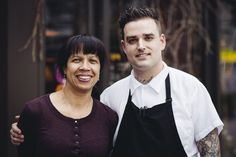 Owner Donna Moodie and Chef Joseph Bollag - gracious hosting and delicious food!
