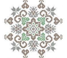 Výšivka Ábelová3, 17x17 cm West East, Folklore, Cross Stitch Patterns, Symbols, Design, Decor, Decoration, Decorating