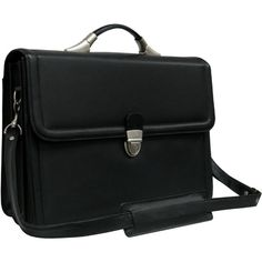 Amerileather Savy Leather Executive Briefcase   Overstock.com Shopping - The Best Deals on Briefcases