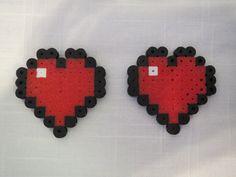 Minecraft Perler Bead Heart by TheTopazTurtle on Etsy, $2.00