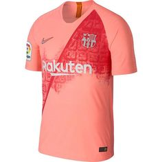 FC Barcelona Vapor Match Third Men's Soccer Jersey Size S (Light Atomic Pink) Fc Barcelona, Camisa Barcelona, Barcelona Jerseys, Liga Soccer, Sports Jersey Design, Yellow Shorts, Football Jerseys, Shabby Chic, Games