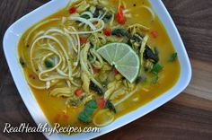 Curry soup recipe