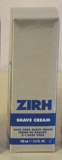 Zirh Aloe Vera Shave Cream 3.3 Fluid Ounces #Zirh