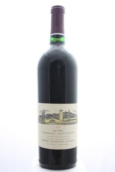 Robert Mondavi Cabernet Sauvignon Reserve 1978. United States, California, Oakville. 5 Bottles á 0,75l. Price realized (10/2016): 720 USD (144 USD (3.561 CZK) / Bottle).