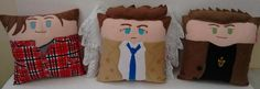 Handmade Supernatural Trio Fan Art Pillow Set by RbitencourtUSA on DeviantArt