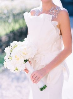 Paolo Corona gown: http://www.stylemepretty.com/little-black-book-blog/2015/01/22/classic-couture-paris-wedding/ | Photography: Le Secret D'Audrey - http://www.lesecretdaudrey.com/