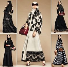 "Dolce & Gabbana Launches Abaya and Hijab Collection for the ""Arab World"""