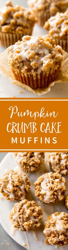 Could You Eat Pizza With Sort Two Diabetic Issues? Soft And Moist Pumpkin Muffins Topped With Pumpkin Spice Crumbs And Maple Icing Recipe On Fall Desserts, Just Desserts, Delicious Desserts, Dessert Recipes, Yummy Food, Pumpkin Recipes, Fall Recipes, Holiday Recipes, Cupcakes