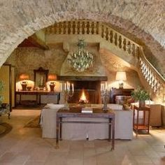 Old Mill House. Moulin du Jardinier is a century converted mill house nestled in the hills in the South of France. Future House, My House, Arch House, Stone Archway, Fachada Colonial, Architecture Design, Houses In France, Tuscan Style, Stone Houses