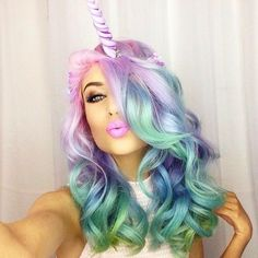 The Best 39 Unicorn Makeup Ideas to Try #halloween #cbloggers #bbloggers #lbloggers
