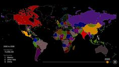 Mira dos siglos de inmigración a EEUU en este mapa animado #inmigracion www.cynthiarlopez.com | 915.996.9070