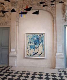 Musée Picasso, Paris - Photo by Picasso, Purple Petunias, Contemporary Art Daily, Displaying Collections, Creative Walls, Paris Photos, Art Of Living, Interior And Exterior, Interior Design