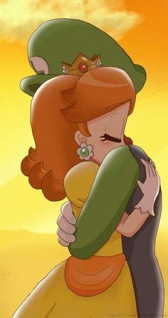 Daisy y Luigi Super Mario Bros, Super Mario Brothers, Super Smash Bros, Mario And Luigi Games, Mario Bros., Mario Kart, Princesa Daisy, Princesa Peach, Metroid
