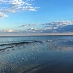 We're so in love with Tybee's bright blue skies! Savannah Chat, Heaven, Sky, Blue Skies, Island, Mountains, Night, Beach, Places