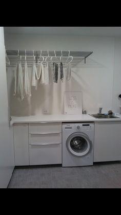 Washing Machine, Laundry, Home Appliances, Deco, Bathroom, Laundry Room, House Appliances, Washroom, Full Bath
