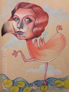 Mica Angela Hendricks, The Busy Mockingbird