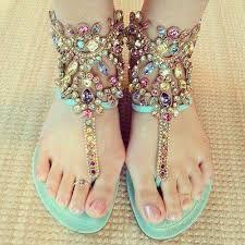 Latest beautiful sandals