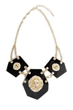Mane Event Lion Necklace