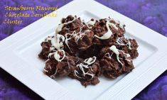 Strawberry Flavored Chocolate Cornflakes Cluster   Wanna some chocolate...Grab it  #chocolatecornflakecluster #strawberry #chocolate #crunchy #crispy #yummy #drooling #instantenergy Recipe at: www.annapurnaz.in