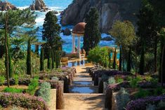 Botanical gardens on the Costa Brava
