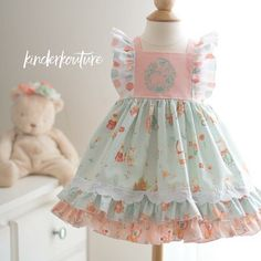 The Lola Pink Rose Baby Bubble is an adorable handmade pink floral baby romper. Made with attention to detail, flutter sleeves, and large bow front and center, this adorable bubble will look perfect on your little girl.