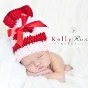 Newborn Sleeve Hat  - via @Craftsy