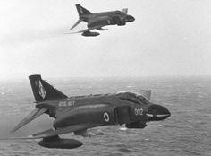 FG 1 photo taken from Ark Royal