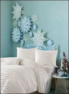 Decorating theme bedrooms - Maries Manor: Winter wonderland and winter sports theme decorating