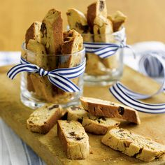 Peanut Butter & Chocolate Biscotti #recipe #FoodNetwork #Kohls