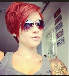 Pink-red pixie...love the colour/shape