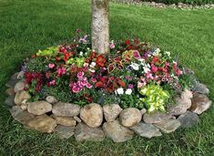 27+ Flower bed ideas rock info