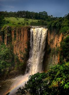 Howick Falls, South Africa – I have sat on the edge of this beautiful fall