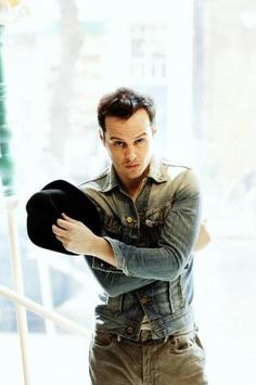 Andrew Scott. I think this picture just made me fall in love with him all over again. Update: officially one of my favorite sexy pictures of him.