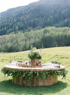 Beautiful Round Bar by Easton Events and Mindy Rice