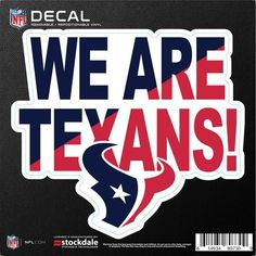 Celebrate your fandom wherever you want to when you get this Houston Texans Xpression Logo full color car magnet. The amazing graphics on this magnet are perfect to show off your allegiance to the Houston Texans. Texans Football, Football Shirts, Houston Texans Logo, Table Tennis Set, Soft Sided Coolers, Sports Team Logos, Cornhole Set, Nfl Shop, Car Magnets