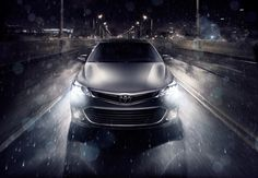 Photograph by Markus Wendler.  Toyota, Avalon, Advertising, Automotive, Cityscape, Photography