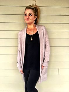 Shop our NEW arrivals... Who doesn't love a fall cardigan that will match everything you wear?!💕   #fall #fallfashion #cardigan #layering #love #shoplocal #tickledpink