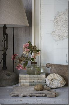 Vignette with the books. love it.