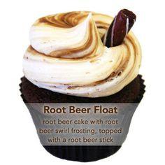 Sweet Avenue Bake Shop: Rootbeer Float Cupcakes   LUUUX