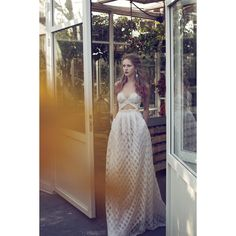 Meital Zano Hareli 2015 Bridal Collection is curvy and elegant lines of the female figure are outlined by the lace embroidering which is simply amazing. 2015 Wedding Dresses, Wedding Gowns, Prom Dresses, Formal Dresses, Here Comes The Bride, Fashion Company, Bridal Collection, Wedding Designs, Marie
