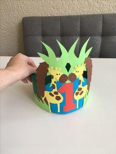 verjaardagsmuts 1 jaar Aap verjaardagskroon   kita   Pinterest   Monkey crafts and Craft verjaardagsmuts 1 jaar