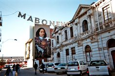Photo of a mural of Jan van Riebeeck in Maboneng Precinct Communication Design, Cape Town, Short Film, South Africa, Waterfall, Places To Visit, Street View, Van, Retail