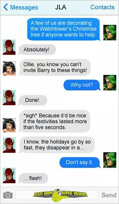 Justice League Christmas