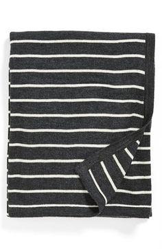 stripe throw.