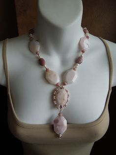 Pink Peruvian Opals,tiny pink fresh water pearls and sterling silver  Jewelry By Stella Margaritis on FaceBook Pearl Necklace, Beaded Necklace, Peruvian Opal, Water Pearls, Beauty Art, Opals, On Set, Fresh Water, Jewelry Ideas