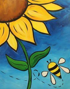 40 Easy Acrylic Painting Ideas on Canvas Sunflower Canvas Paintings, Small Canvas Paintings, Easy Canvas Art, Small Canvas Art, Mini Canvas Art, Acrylic Painting Canvas, Kids Canvas, Simple Acrylic Paintings, Easy Paintings